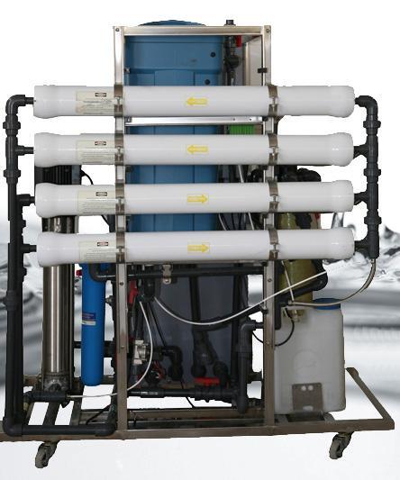 راه اندازی دستگاه تصفیه آب به روش اسمز معکوس
