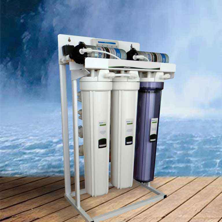 خرید دستگاه تصفیه آب شیرین کن نیمه صنعتی