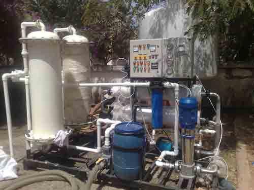 برآورد تأمین آب کشور توسط آب شیرین کن